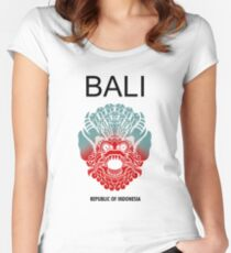 Balinese Myth Women's Fitted Scoop T-Shirt