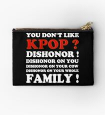 DISHONOR ON YOU! - BLACK Studio Pouch