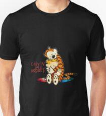 Calvin and Hobbes Big Hugs Nebula  Unisex T-Shirt