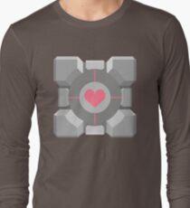 Companion Cube Long Sleeve T-Shirt