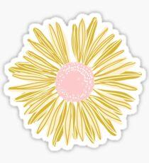 Goldblume Sticker