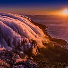 Sunset from Table Mountain by Erik Schlogl