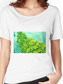 closeup flower Women's Relaxed Fit T-Shirt