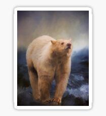 Spirit Bear - Kermode Bear Art Sticker