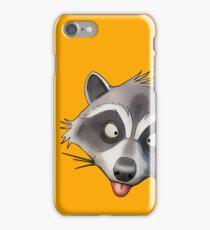 Gray Raccoon GTA iPhone Case/Skin
