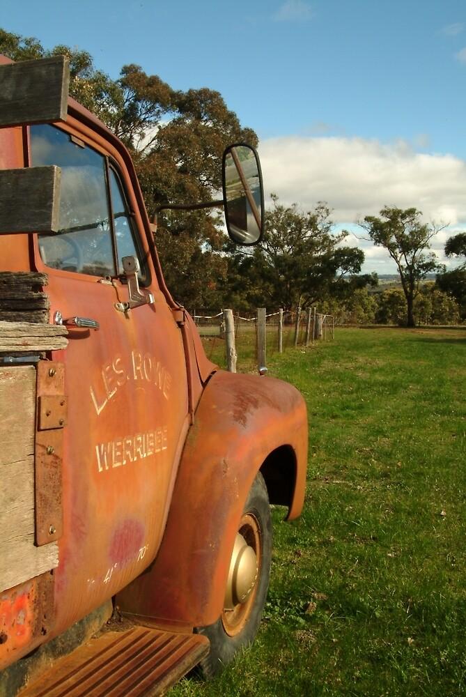 Joe Mortelliti Gallery - Bedford truck, Brisbane Ranges, Victoria, Australia.  by thisisaustralia
