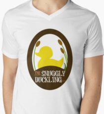 The Snuggly Duckling Pub and Brewery Men's V-Neck T-Shirt