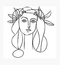Lámina fotográfica Pablo Picasso
