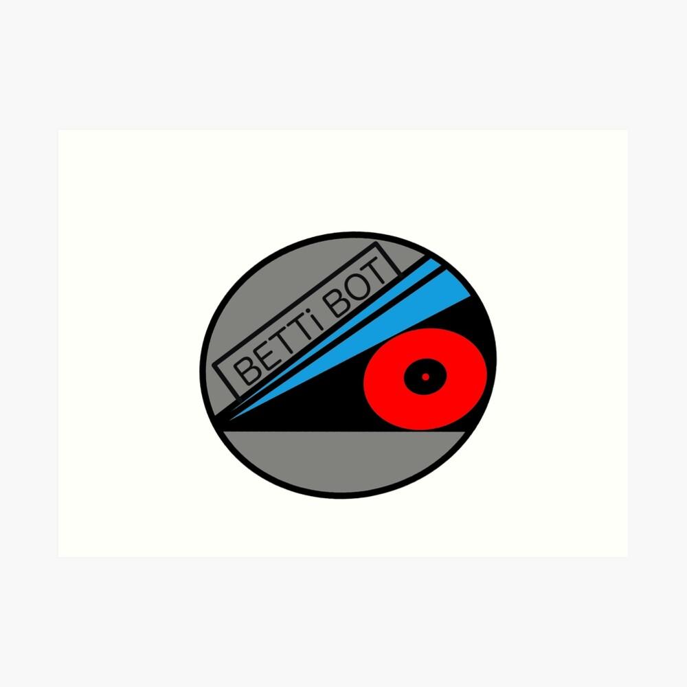 Betti Bot Logo Art Print