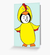 Pengychicken Greeting Card