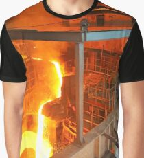 Metal Liquid Graphic T-Shirt