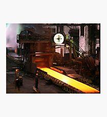 Steel Photographic Print