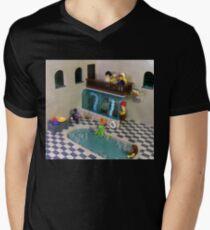 The Spa of Niflheim Mens V-Neck T-Shirt