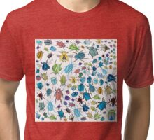 Beetles #1 Tri-blend T-Shirt