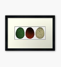 Dragon Eggs Framed Print