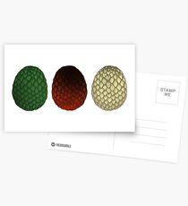 Dracheneier Postkarten