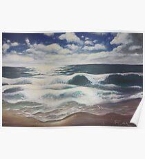 Bahamas Seascape Poster