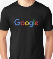 Neues Google Logo (September 2015) - Durchsichtig, hochwertig, groß Slim Fit T-Shirt