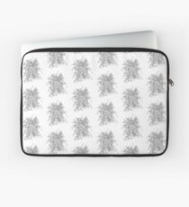 Succulents & Orchids - B&W Laptop Sleeve