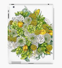 Yellow Roses & Succulents iPad Case/Skin
