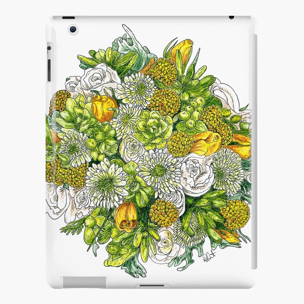 Yellow Roses & Succulents iPad Case & Skin