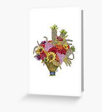 Sunny Bouquet Greeting Card