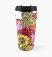 Sunny Bouquet Travel Mug