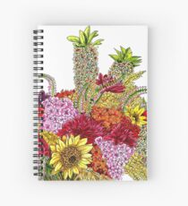 Sunny Bouquet Spiral Notebook