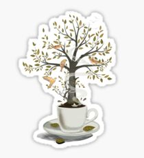 A Cup of Dreams Sticker