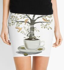 A Cup of Dreams Mini Skirt