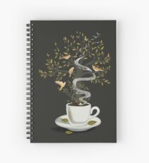 A Cup of Dreams Spiral Notebook