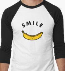 Banane Baseballshirt mit 3/4-Arm