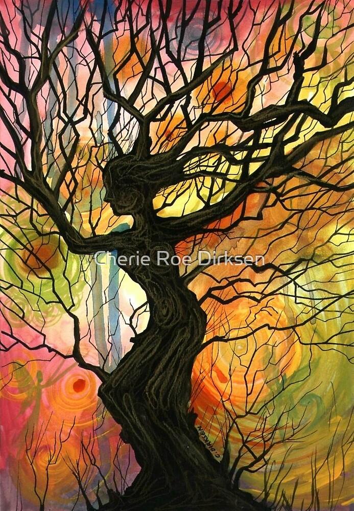 Tree of Life Series - Dusk by Cherie Roe Dirksen