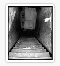Decaying Staircase Sticker