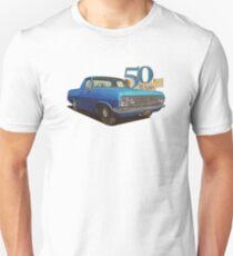 HR Holden Ute - 50th Anniversary - Met Blue T-Shirt