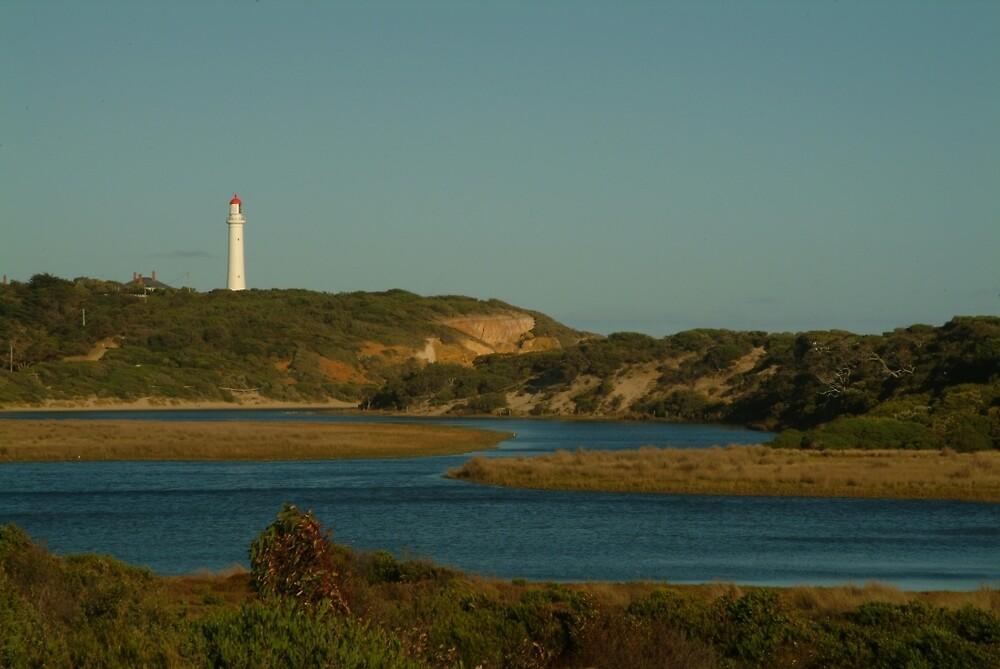 Joe Mortelliti Gallery - Split Point Lighthouse at Aireys Inlet, Great Ocean Road, Victoria, Australia.  by thisisaustralia