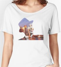 Frank Sinatra New York  Women's Relaxed Fit T-Shirt