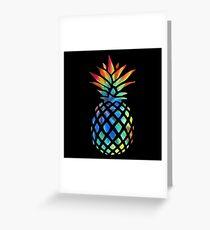 Hippy Pineapple - ONE:Print Greeting Card