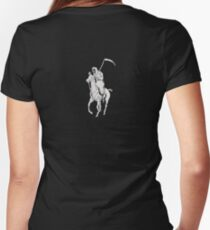 GRIM REAPER POLO BIG Women's Fitted V-Neck T-Shirt
