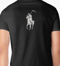 GRIM REAPER POLO BIG Men's V-Neck T-Shirt