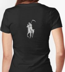 GRIM REAPER POLO BIG Womens Fitted T-Shirt