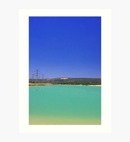 Champion Lake - Western Australia  Art Print