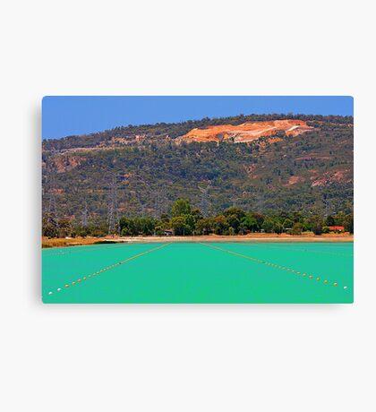 Champion Lakes - Western Australia  Canvas Print