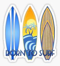 Born To Surf Honu Sticker