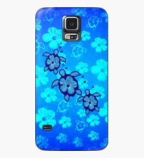 3 Hawaii Honu und Hibiskus Hülle & Klebefolie für Samsung Galaxy