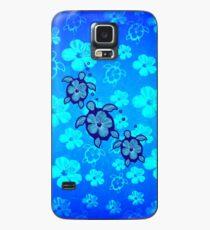 Funda/vinilo para Samsung Galaxy 3 Hawaiian Honu e hibisco