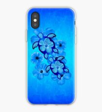 Blue Hawaiian Honu Turtles iPhone Case