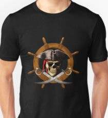 Pirate Wheel Unisex T-Shirt