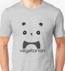Vegetarian Panda Unisex T-Shirt