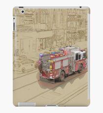 NYC Fire Engine iPad Case/Skin